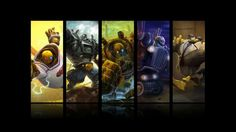 Blitzcrank All Skin League of Legends HD Wallpaper Lol Champions, Full Hd Pictures, League Of Legends, Hd Wallpaper, Painting, Art, Wallpaper In Hd, Hd Images, Painting Art