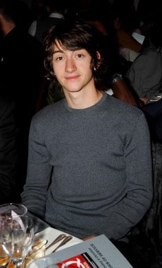 ALEX TURNER Q Awards 2008.