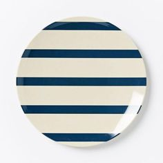 Nautical Melamine Plates