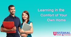 "Learn in your comfort - ""Home Tuition"" Home Tutors, Own Home, Teacher, Learning, Board, Professor, Teachers, Studying, Teaching"
