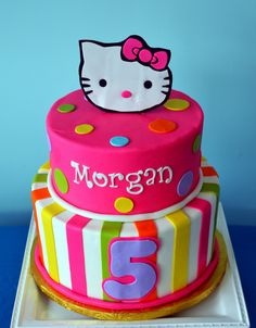 Hello Kitty Cake by Simply Sweet Creations (www.simplysweetonline.com)