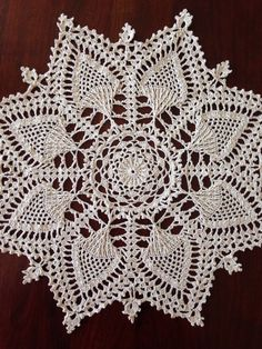 A personal favorite from my Etsy shop https://www.etsy.com/listing/509825581/large-ecru-pineapple-doily-handmade