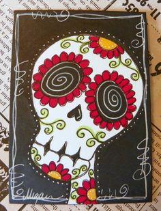 sugar skull.   http://www.etsy.com/people/mycreativebliss?ref=ls_profile