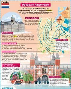 Educational infographic & data visualisation   Fiche exposés : Découvre Amsterdam…   Infographic   Description  Fiche exposés : Découvre Amsterdam    – Infographic Source –   - #Languages
