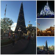 #MagicKingdom all decorated for #Christmas! #waltdisneyworld :)