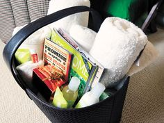 Guest Room Basket