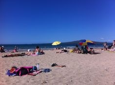 Day 43 - chilling at takapuna beach