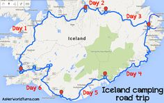 A Guide to Camping in Iceland  |   As Her World Turns