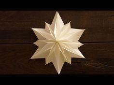 Einfache Sterne zu Weihnachten basteln. paper stars tutorial. DIY, My Crafts and DIY Projects