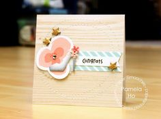Card by PS DT Pamela Ho using PS Shoes dies, Pinked Circle dies, A Little Lovin