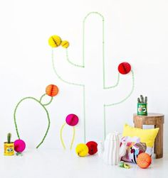 mommo design: CACTUS LOVE - washi tape cactus