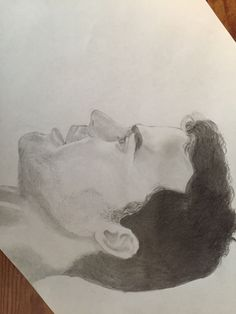My drawing of Theo James or Tobias! Lol sorry it's sideways<<<previous  Pinner