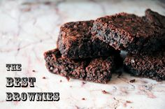 The BEST Brownies ever