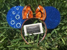 A personal favorite from my Etsy shop https://www.etsy.com/listing/469260841/nemo-inspired-minnie-ears