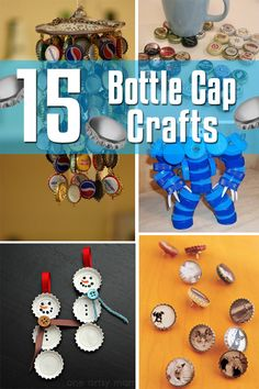 15 Bottle Cap Crafts | 99Crafting