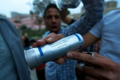 Tear-Gas Bombs are made in U.S.A