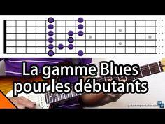 La gamme blues (pour les débutants) - YouTube
