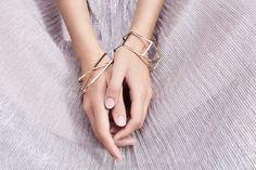 Andrea Lebris by Charlaine Croguennec fashion photographer - Waekura - bijoux - jewelry - brand - marque - editorial - shooting - photoshoot - mode - paris - black hair - long - brune - cheveux noir - bracelet - bague - boucle d'oreille - queue de cheval - tirés - model - female - woman - outdoor - location - architecture - building -dress - light - natural light  - make up - silver - gold - glitter - line - graphic - graphique - mannequin - détails - brut - silver - purple - shiny - wall…