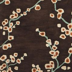 orange, blue, cream, brown... gorgeous rug ... find something cheaper for guest bed