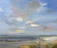 David Atkins, Sailing at East Head, West Wittering