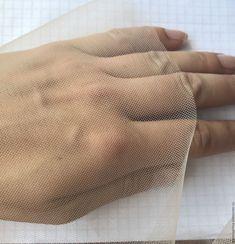 Шитье ручной работы. Ярмарка Мастеров - ручная работа. Купить Фатин под вышивку ( для вышивки крючком ). Handmade.