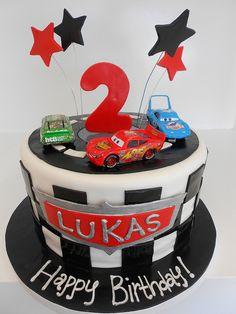 Cars Racing cake
