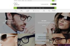Glasses - Responsive Magento Theme by 7-Up on Creative Market