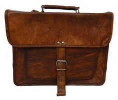 Laptop Leather Office Bag can also be used as travel bag, Vintage look Handmade leather bag. Leather Office Bags, Leather Bags Handmade, Laptop Case, Briefcase, Vintage Looks, Being Used, Travel Bag, Messenger Bag, Satchel
