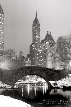 Central Park (1961) Posters sur AllPosters.fr