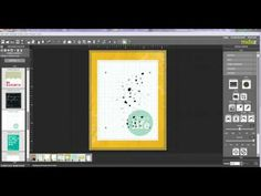 step by step tutorial on creating a fun card in #MDS - #My Digital Studio