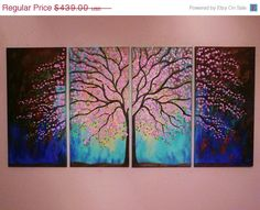 4 Tree painting by jeanvadalsmith,