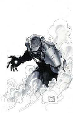 Stephen Platt / Ironman Comic Art