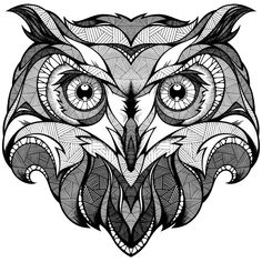 Coloring Pages -Owl