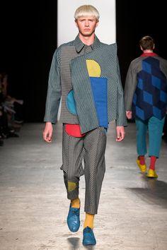 Westminster BA Fashion Design show 2015 Charlotte Scott