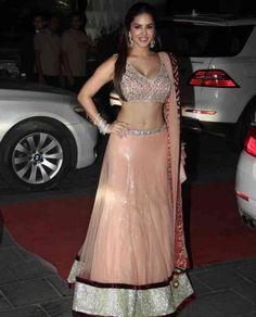Sunny Leone at @TSeries' Tulsi Kumar & Hitesh Ralhan Grand Wedding Reception, March, 2015