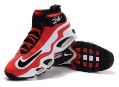 Men s Nike Air Ken Griffey Max 1 - Red White - Click Image to Close Nike 25c4d0d3a