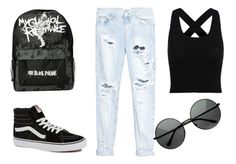 """Mcr style"" by masa-kata on Polyvore"