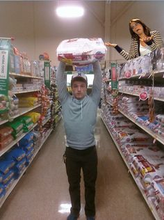 """""""I've seen you in the market. You can lift hundred-pound bags of flour.""""    Bahahahaha"""