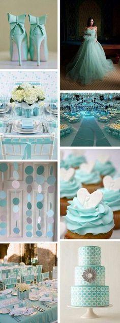 mint- seafoam- aqua- tjhemed wedding.