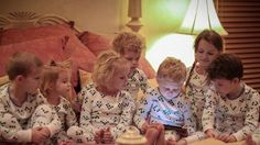 Have your iPad read you a bedtime story. Smart PJs: App Compatible Pajamas for Bedtime Stories