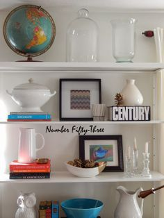 Number Fifty-Three: Living Room Updates & Additions