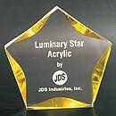 You're a star! Overland Park Awards - Acrylics/Crystal