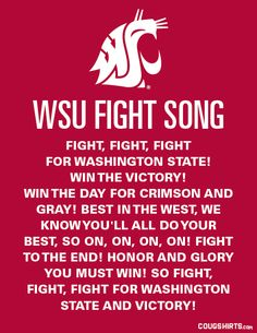 The WSU Fight Song