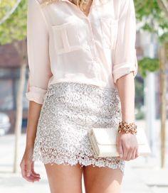 J.Crew daisy lace mini skirt, bright poppy color | My Style ...