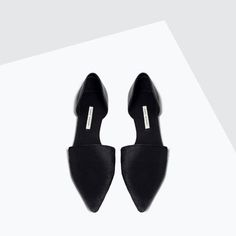 LEATHER D'ORSAY SHOES