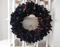 Image result for rag wreaths