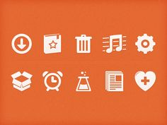 Orange-icons