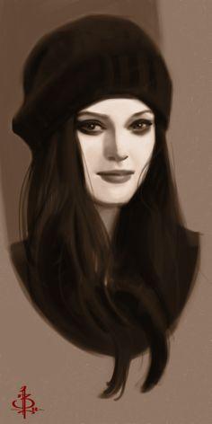 Timed Head Sketch 530 by FUNKYMONKEY1945.deviantart.com on @deviantART
