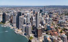 Brisbane CBD Brisbane Cbd, San Francisco Skyline, New York Skyline, Spaces, Travel, Viajes, Destinations, Traveling, Trips