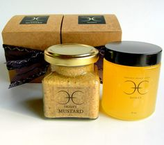 Honey and Honey Mustard Gift Set. $14.00, via Etsy.